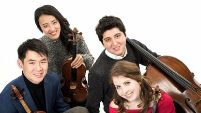 Omer String Quartet, features violinists Mason Yu and Erica Tursi, violist Jinsun Hong and cellist Alex Cox, will perform at 7:30 p.m. Saturday, Nov. 17, at St. Louis Church, 12500 Clarksville Pike, Clarksville.