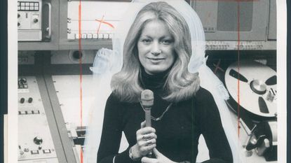"Catherine ""Cassie"" Mackin, pictured in 1973, was a pioneer in the TV news business."