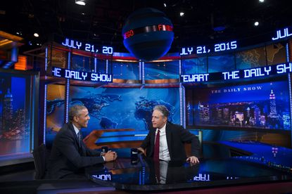 'The Daily Show' set donated to Newseum in D.C.