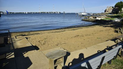 The Horn Point Street End Park in Eastport is a quiet spot to launch kayaks.
