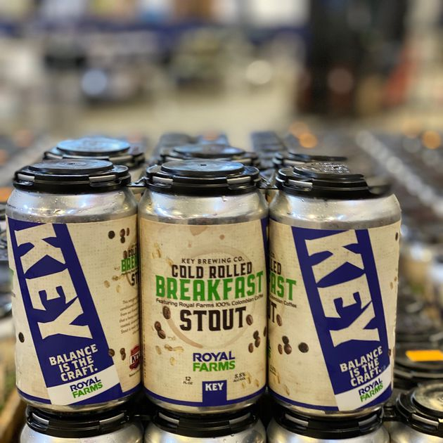 Maryland institution Royal Farms and Dundalk's Key Brewing partner on breakfast beer