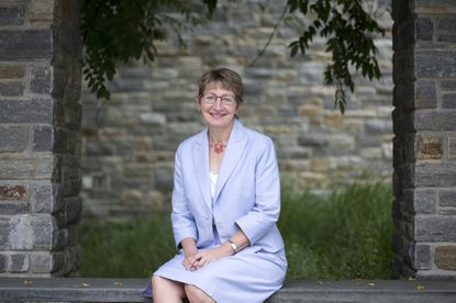 """""""It's my job to help people in Baltimore find a way to identify their needs and then it's our job from the school and the university as a whole to help make it possible to meet those needs,""""said Kathleen Getz, dean of Loyola University's Sellinger School of Business and Management."""