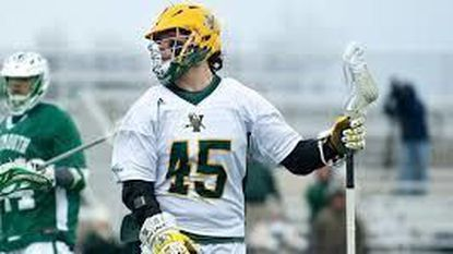 Ian MacKay, a redshirt senior attackman for the No. 16 Vermont men's lacrosse team, became the third player in school history to reach 200 points in his career when he scored two goals in a loss to No. 1 Albany on Saturday.