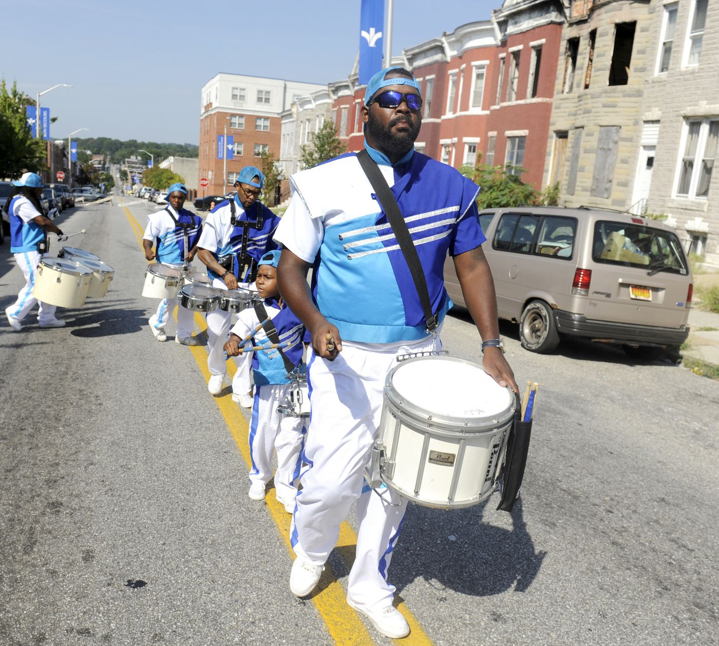 West Baltimore marching band shapes the next generation of