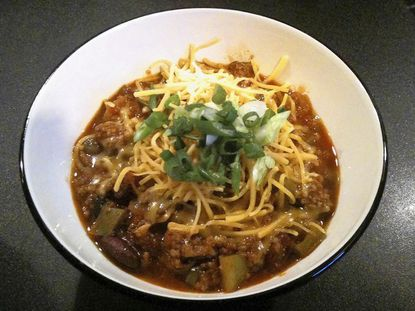 Chili is this week's tailgating recipe.