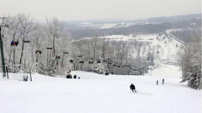 Skiing at Roundtop Mountain Resort in Lewisberry, Pa., about an hour north of Baltimore.