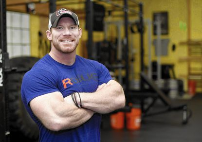 South Carroll graduate and Carroll County resident Brian Alsruhe recently lifted his way to the title of Maryland's Strongest Man at the Maryland Strongest Man Competition.