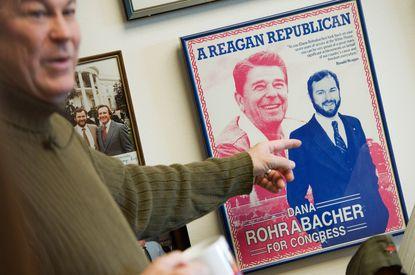 How did Rep. Dana Rohrabacher, a protege of Reagan, become 'Putin's favorite congressman'?