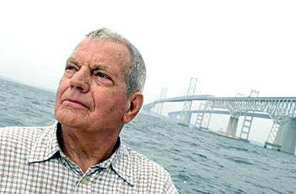"""Bob Miller is proud of the role he played in building the first bridge over the Chesapeake. When he first arrived, he said, """"I had never seen the bay. It was the biggest thing I ever saw."""""""