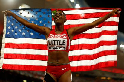 A rally, a world track silver for Lindblom's Shamier Little