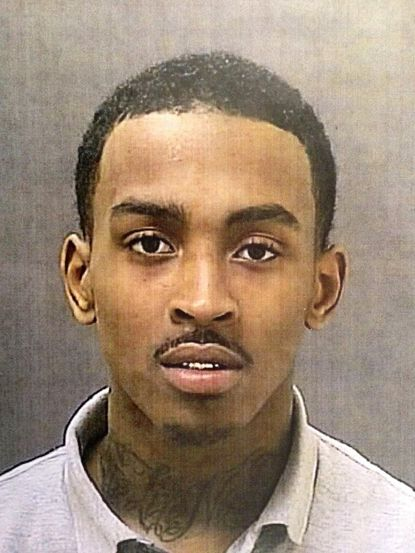 Donte Jones is accused of shooting Baltimore city police Officer Andrew Groman on Sunday.
