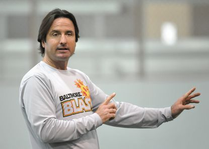 Blast head coach Danny Kelly during practice at Southeast Recreation Center.