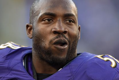 Ravens coach John Harbaugh: Elvis Dumervil will not practice fully until he is ready