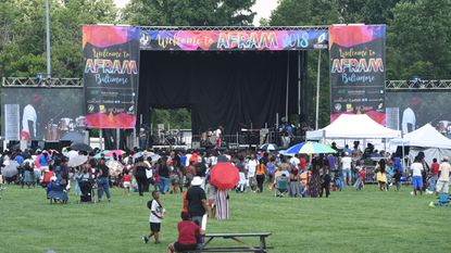 Dru Hill performed at last year's AFRAM festival in Druid Hill Park and will perform again this year, along with acts such as Rick Ross Teddy Riley.