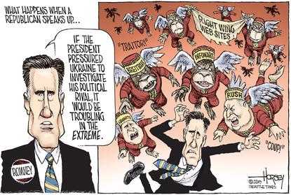 Romney attacked