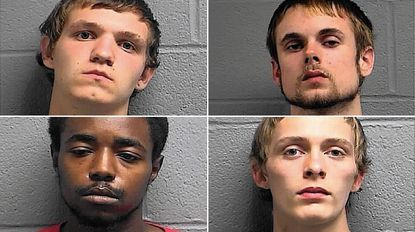 Four charged with armed robbery in Taneytown