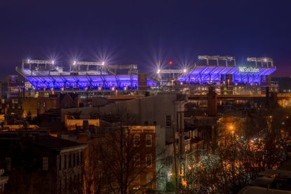 From time to time, especially during mild winters, the question comes up: Could M&T Bank Stadium in Baltimore host a Super Bowl?