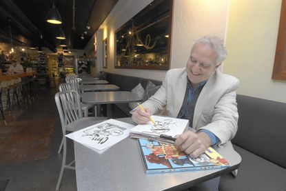 Kevin O'Malley, an illustrator and children's author from Rodgers Forge, just the 75th book of his career.