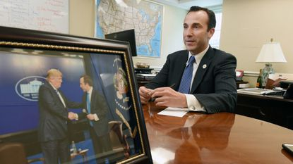 Reed Cordish, shown in this 2017 file photo while he was assistant to President Donald Trump for intergovernmental and technology initiatives, has invested in a Baltimore sports management agency.