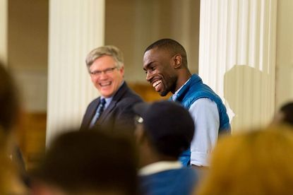 The picture on DeRay Mckesson's Medium.com article announcing his candidacy for mayor.