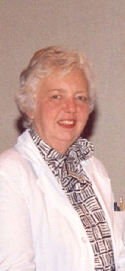Julia W. 'Judy' Buchanan worked in nuclear medicine at Johns Hopkins Hospital.