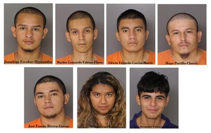 Seven suspects, including one juvenile charged as an adult, have been charged with first degree murder in the death of Daniel Alejandro Alvarado Cuellar.
