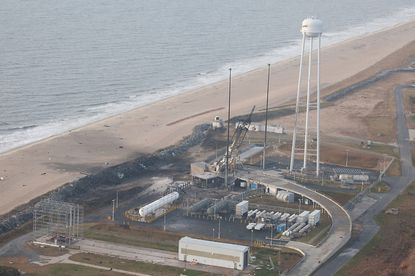 Wallops Island takes stock of damage after rocket explosion