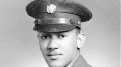 Waverly Woodson Jr. was a corporal and a medic with the 320th Barrage Balloon Battalion, whose job was to set up explosive-rigged balloons to deter German planes. He died in 2005.