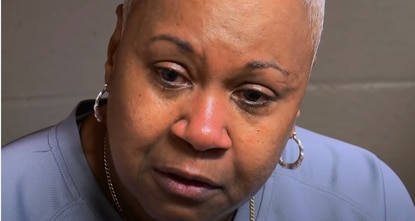 Eraina Pretty, shown here during an interview with ABC anchorwoman Diane Sawyer in 2015, is Maryland's longest-incarcerated woman.