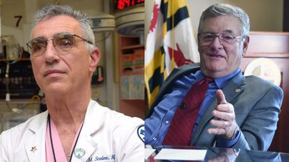 Dr. Thomas Scalea and Donald Mohler were honored Monday night by the Greater Baltimore Committee. Scalea is physician-in-chief at the R Adams Cowley Shock Trauma Center; Mohler is the former Baltimore County executive.