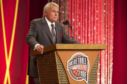 Former Maryland men's basketball coach Gary Williams was inducted into the Basketball Hall of Fame during the 2014 Naismith Memorial Basketball Hall of Fame Enshrinement Ceremony at Springfield Symphony Hallon Aug. 8, 2014.