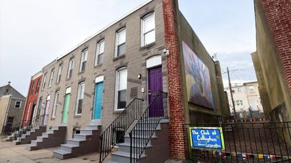 "Four rowhouses on Mura Street in East Baltimore are the Collington Club, or, ""The Club"" to those who go there. It started as a youth drop-in center a decade ago. An Episcopal organization acquired the four rowhouses and converted them into space for classrooms and a kitchen."