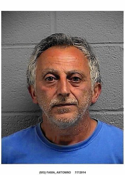 """Antonino Famawill serve 10 days in jail after being convicted of reckless endangerment for firing a gun that lodged a bullet inside a nearby home.<a href=""""http://bit.ly/1HHaVB4"""">Full story</a>"""