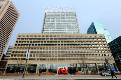 BALTIMORE, Md. -- This is T. Rowe Price Group's headquarters on Pratt Street in downtown Baltimore.