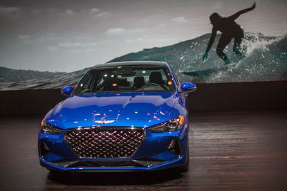 """Genesis G70 awarded as a """"2019 Best New Car"""" by Autotrader"""