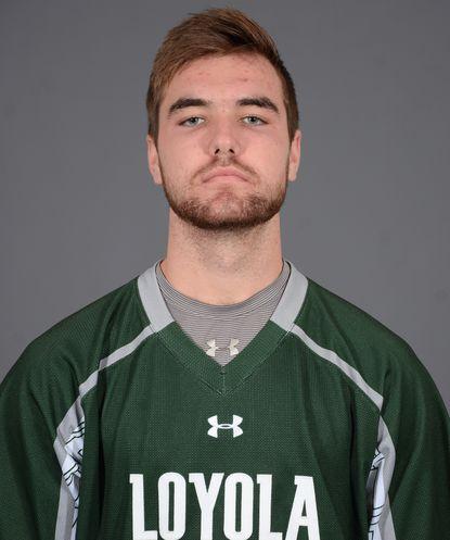 Loyola Maryland attackman Pat Spencer