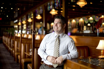 Clyde's manager Paul Kraft is leaving the restaurant business after 23 years and joining Costello Construction.