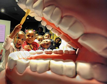 museum of dentistry works to get kids interested in brushing