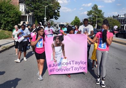 Baltimore cop gave conflicting testimony in trial of man accused of killing Taylor Hayes, judge tells jurors