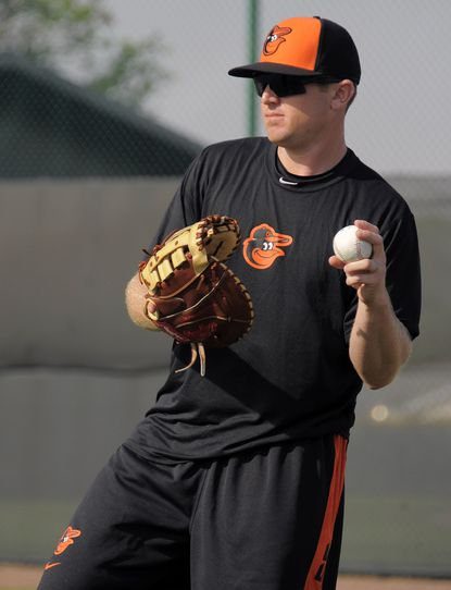 New addition to Orioles, Chris Parmelee looks to capitalize on second chance