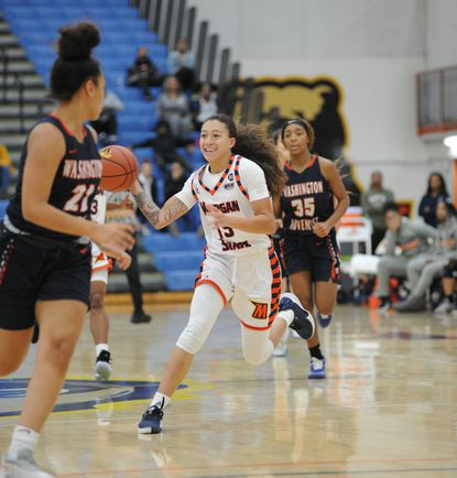 Chelsea Mitchell of Morgan State women's basketball