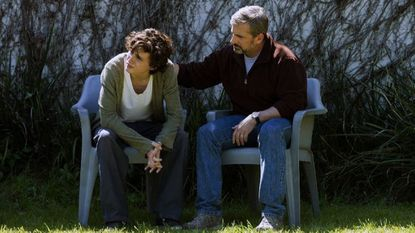"""Nic Sheff (Timothee Chalamet, left) come to terms with his methamphetamine addiction, with the help of his father (Steve Carell), in """"Beautiful Boy. Sheff is the keynote speaker at the Harford County Addiction and Recovery Symposium in Bel Air Thursdau"""