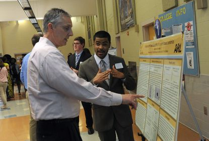 Aberdeen High's SMA Class of 2017 shows their Capstone projects Tuesday