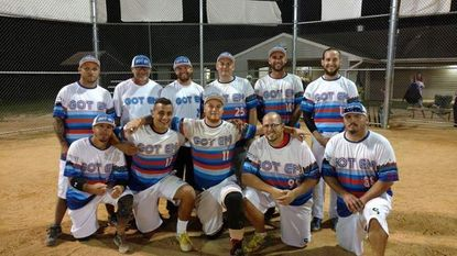 Got Em won the Carroll County Men's Softball League Wednesday Night Gold Division championship back in the spring.