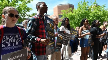 Towson U. unity rally targets 'hatred and bigotry'