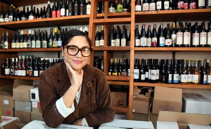 Lane Harlan, proprietor of Clavel and Fedensonnen, recently opened the wine shop Angels Ate Lemons in the Old Goucher neighborhood.