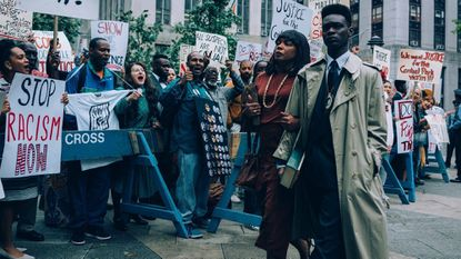 "Aunjanue Ellis and Ethan Herisse in the Netflix series ""When They See Us."" (Atsushi Nishijima/Netflix/TNS) ** OUTS - ELSENT, FPG, TCN - OUTS **"