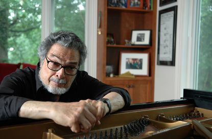 Pianist Leon Fleisher at his home in Bolton Hill, June 3, 2007. Fleisher, a leading American pianist in the 1950s and early '60s who was forced by an injury to his right hand to channel his career into conducting, teaching and mastering the left-hand repertoire, died on Sunday in a hospice in Baltimore. He was 92.