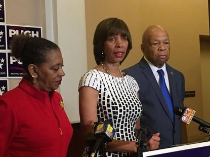 Elijah Cummings endorses Catherine Pugh for Baltimore mayor