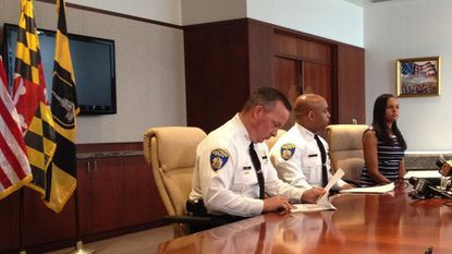Davis shows more aggressive approach to protests than his predecessor Batts